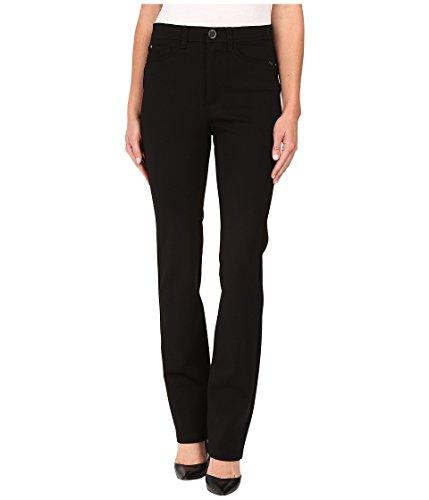 FDJ French Dressing Jeans PDR Wonderwaist Suzanne Straight Leg in Black Black 10 34