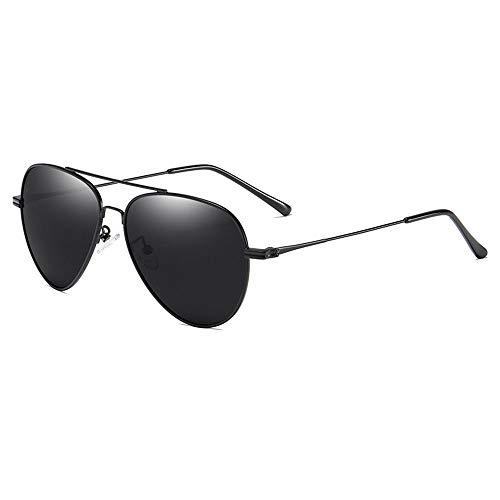 FUFONG Gafas de sol para mujer gafas de sol de aviador para hombre Gafas de sol polarizadas Protección UV PC metal mixto TAC