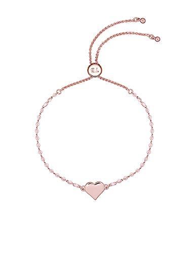 Ted Baker Rainba - Pulsera con forma de corazón, color oro rosa