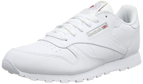 Reebok Classic Leather, Zapatillas de Running Niños, Blanco (White), 35 EU
