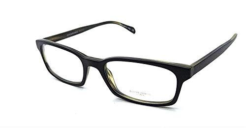 Oliver Peoples Zuko-R OV5001-0952 1282 Eyeglasses Black w/ Clear Demo Lens 52mm