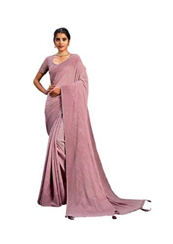 Sari-Bluse, indische Seide, Georgette, digital bedruckt, für muslimische Party, Cocktail, Sari, MH