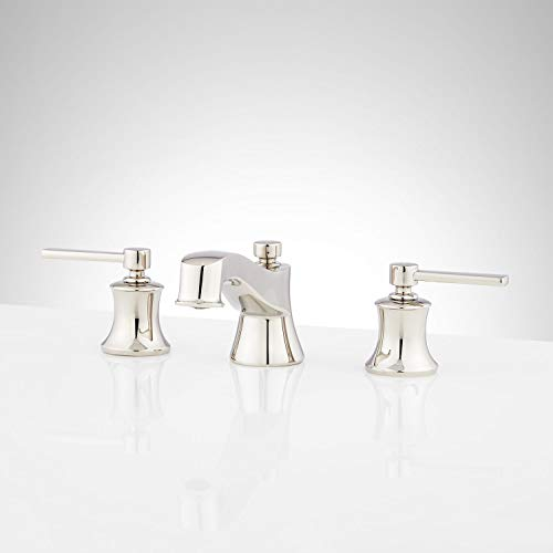 Signature Hardware 948595 Pendleton 1.2 GPM Widespread Bathroom Faucet with Pop-Up Drain Assembly