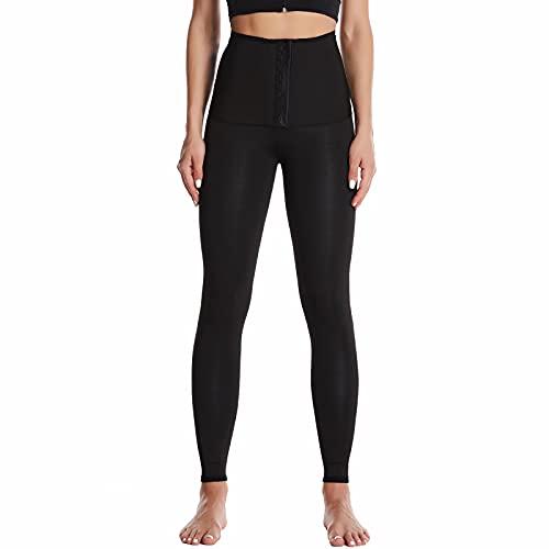 Pantalones para Sudoración Neopreno Mujer Pantalones Sauna Pantalón de Sudoración Leggins...