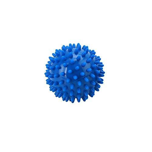 Fliyeong Premium 7 cm PVC Spiky Massage Ball Roller Reflexzonenmassage für Fuß Arm Nacken Zurück Ganzkörper Entspannen Trigger Point Massage Ball