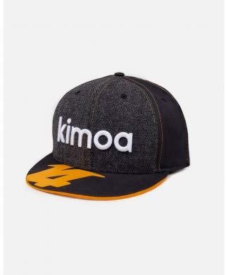 Kimoa Gorra Fernando Alonso Negro M-L