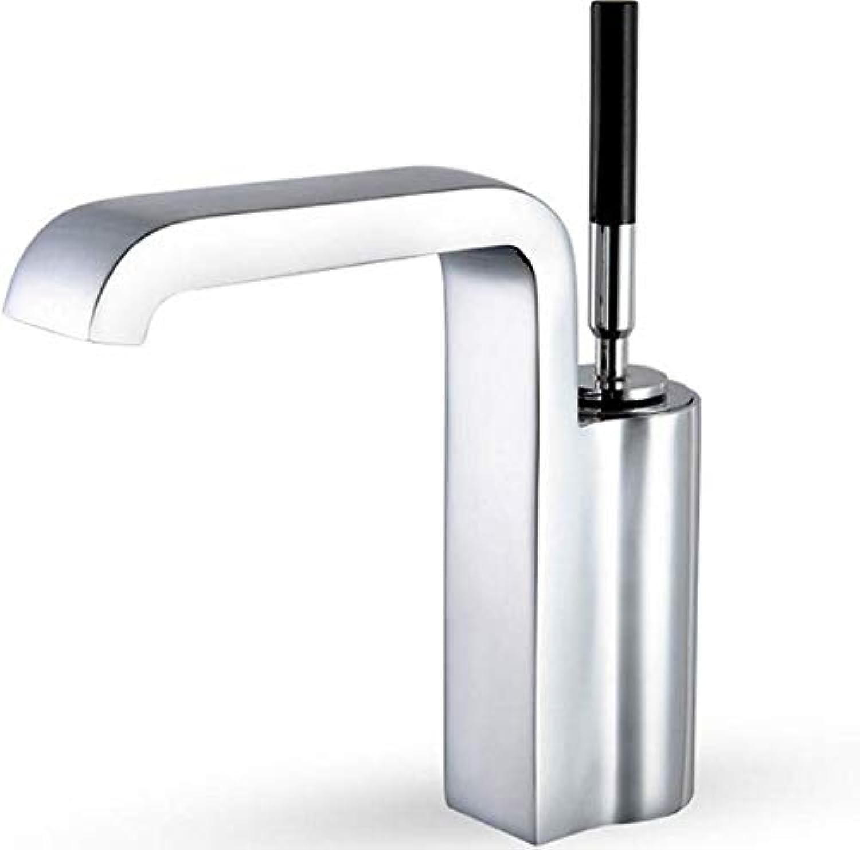 Faucet Lead-Free Square Innovationsteel Bathroom Basin Faucet