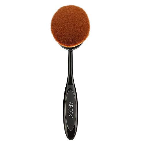 Ogquaton Premium Qualité 1 pc Ovale Maquillage Pinceau Cosmétique Fondation Crème Grande Taille Poudre Blush Professionnel Outil De Maquillage Pinceau Cosmétique
