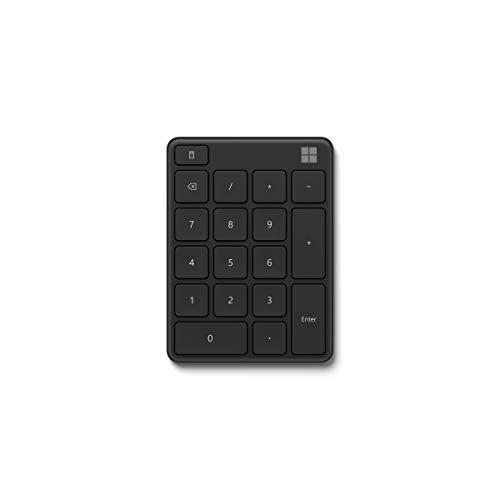 Microsoft Wireless Number Pad Schwarz