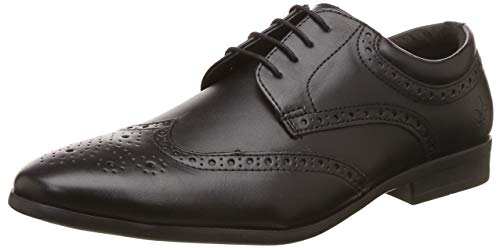 Bond Street by (Red Tape) Men's BSE0091 Black Formal Shoes-8 UK/India (42...