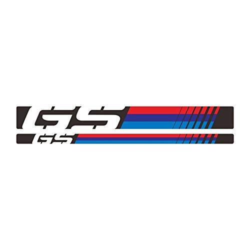 Mrjg Pegatinas de Llantas Etiqueta de neumáticos a Prueba de Agua reflexiva de la Motocicleta Decoración de la decoración del Borde for R1200GS ADV.LC 06-18 y R1250GS 19 AV (Color : 1)