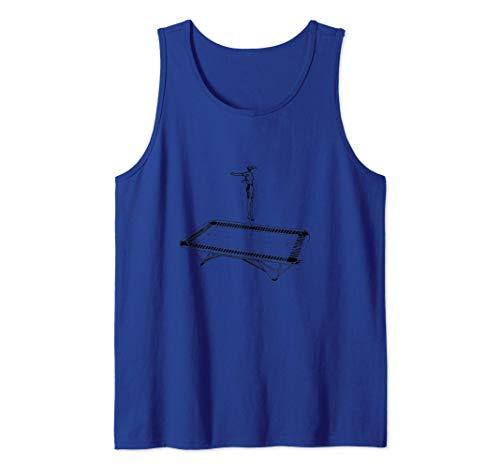 Saltar en un trampolín Camiseta sin Mangas