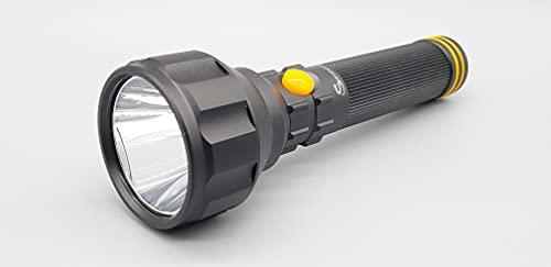Serpent LSL06 - Linterna de emergencia 24 7 en modo de espera para montaje en pared, carga multifunción, 500 veces, protección para el hogar y la oficina, recargable, linterna LED de aluminio