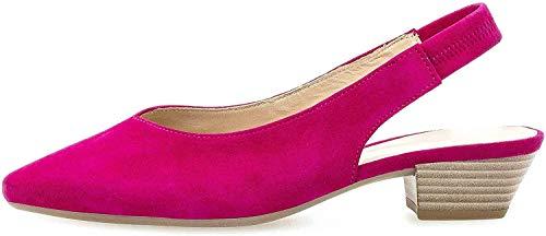 Gabor Fashion Pumps in Übergrößen Pink 41.530.14 große Damenschuhe, Größe:43