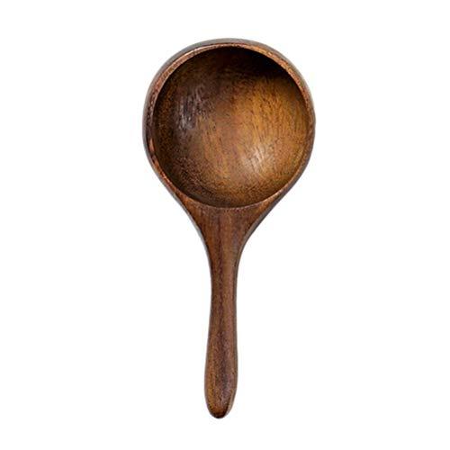 UPKOCH Holz Messlöffel Akazienholz Löffel Mini Kaffeebohne Milchpulver Löffel für die Küche