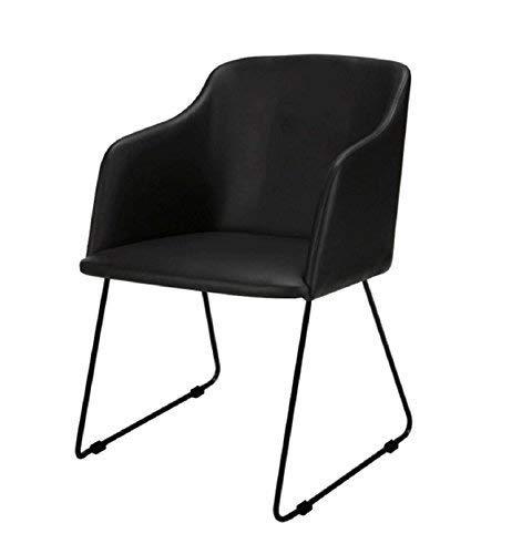 lounge-zone Nils, Silla de Comedor, sillón, Negro, Talla única