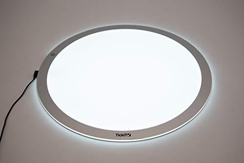 TickiT 73050 Panel de luz redondo, pequeño, 500mm de...