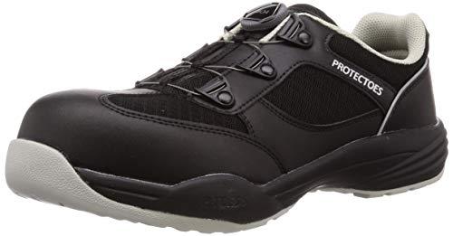 [ミドリ安全] 安全作業靴 JSAA認定 BOA搭載 プロスニーカー PF117Boa ブラック 30 cm 3E