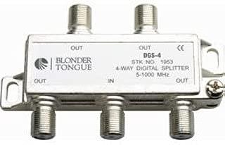 BLONDER TONGUE DGS4 B//T 4 WAY DIGITAL SPLITTER