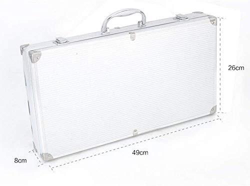 31p3eUxV4iL - Knoijijuo Werkzeugablage 24Pc Grill, Grillzubehör Edelstahl Aluminium Verpackt, Vollständigen Satz Von Utensilien Für Den Grill