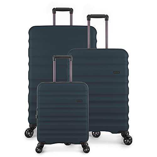 Antler Clifton Suitcase Set   Travel Luggage Set   Hard Shell Suitcases  ...