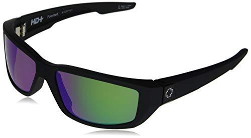 Spy Optic Dirty Mo Soft Matte Black/Hd Plus Bronze Polar/Green Spectra Mirror One Size