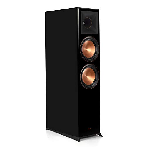 Cheapest Prices! Klipsch Reference Premiere RP-8060FA Floorstanding, Dolby Atmos Speaker in Piano Bl...
