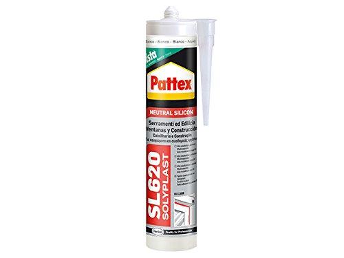 PATTEX 3283020 SL 620/Ral 7004 Serramenti e Edilizia, 300 ml, Grigio