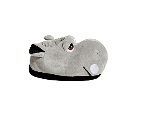 Pantofole in Cotone per Adulti e Bambini Pantofole Ippopotamo Pantofole Animali di Peluche (Numeric_38)