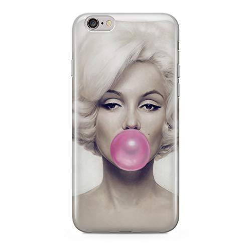 finoo   iPhone 6 und 6S Hard Case Handy-Hülle mit Motiv   dünne stoßfeste Schutz-Cover Tasche in Premium Qualität   Premium Case für Dein Smartphone  Kaugummi Pink
