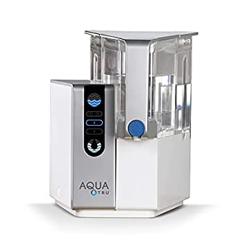 AquaTru - Countertop Water Filtration Purification System with Exclusive 4-Stage Ultra Reverse Osmosis Technology  No Plumbing or Installation Required  | BPA Free