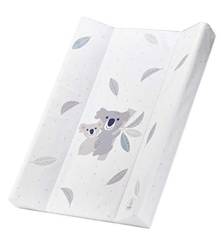 Rotho Babydesign 20099 0001 CQ Materassino Impermeabile per Cambiare Pannolini - Wedge Changing Pad, 70 x 50 cm, Multicolore (Bianco con Koala)