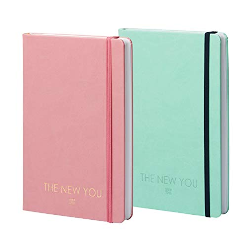 THE NEW YOU ® (english) - The Book That Changes Your Life: Life-Coach & Planner Success Journal, Gratitude Journal for a Happier & More Fulfilled Life (Mint)