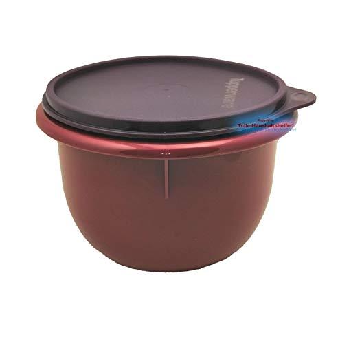 Tupperware® Peng Rührschüssel 1,0 L Schüssel Teig-Schüssel Hefeteig Bordeaux lila NEU+OVP