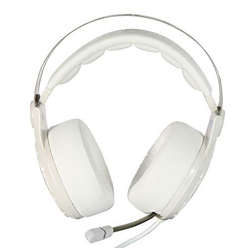 LIMTT Professionele Noise Blocking Gaming Headset, Kleurrijke Ademhaling LED Verlichting Hoofdtelefoon, Stereo Geluidsisolatie Gaming Headset voor PC Headset met Microfoon