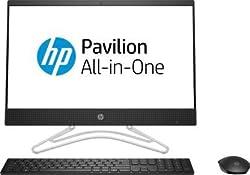 HP Core i5 9th Gen 21.5 FHD AIO Desktop (8 GB/1 TB HDD/Dos/Jet Black/5.39kg) 22-c0163il,hp,c0163il