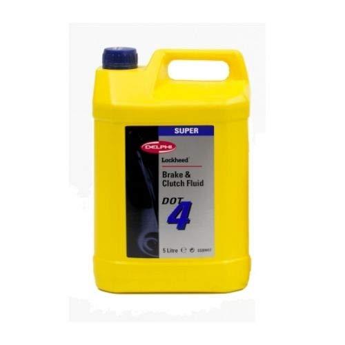 Delphi Liquide de Frein Dot 4 Super 5 litres SSB9416M