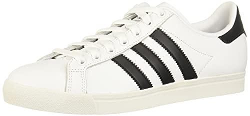adidas Coast Star J, Scarpe da Ginnastica Unisex Bambini, Bianco (Ftwr White/Core Black/Ftwr White Ftwr White/Core Black/Ftwr White), 37 1/3 EU