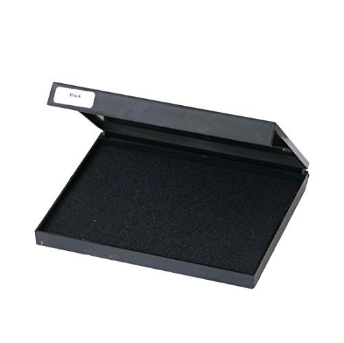 Tampón de tinta negra extragrande (140x 110mm)