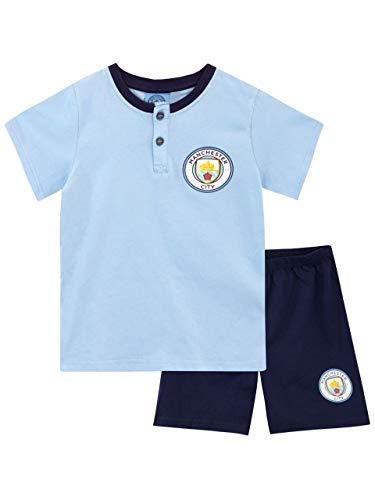 Manchester City FC Pijamas para Niños Azul 5-6 años