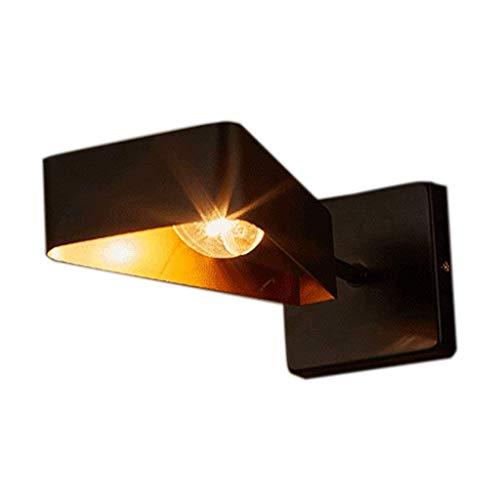 WY-YAN Lámpara de Noche Pared Pasillo lampLoft Escalera Estudio de Hierro Forjado
