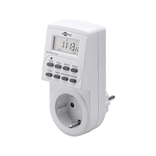 Goobay Digitale Zeitschaltuhr präzise und komfortable Steuerung von elektronischen Geräten