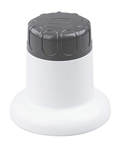 Dr. Oetker Lebkuchenmühle, Gebäckmühle für Mini-Amerikaner, Allround-Ausstecher zum Kochen und Backen, Lebkuchen-Maker mit Dreh-Mechanismus zum Einfachen Lösen des Teiges (Farbe: Weiß), Menge: 1 Stück