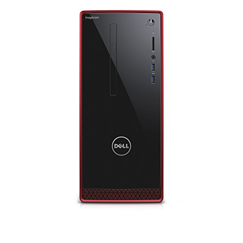 Dell Inspiron i3650-11561RED Desktop (Intel Core i7, 16 GB RAM, 2 TB HDD) AMD Radeon R9360