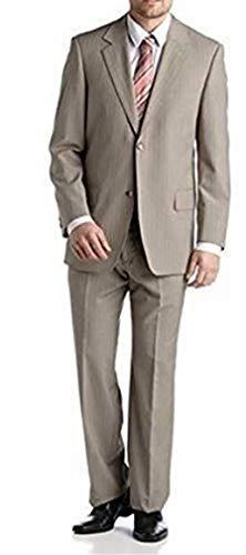 Studio Coletti Anzug im Nadelstreifendessin Beige Gr. 26
