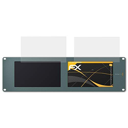 atFolix Panzerfolie kompatibel mit Blackmagic Design SmartScope Duo 4K Schutzfolie, entspiegelnde und stoßdämpfende FX Folie (1er Set)