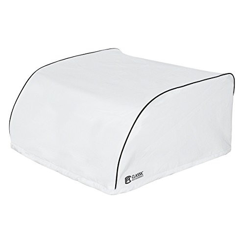 Classic Accessories 80-226-192301-00 White Dometic Brisk II RV Air Conditioner Cover, 27 25 L x 29 W x 14 25 H