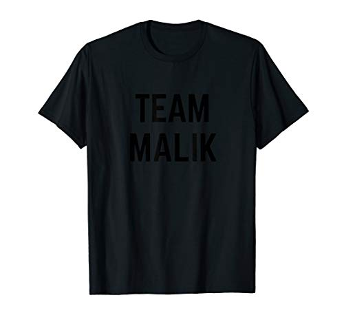 TEAM Malik | Friend, Family Fan Club Support T-shirt