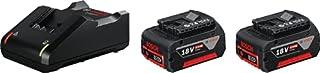 Bosch Professional 1600A019S0 2X 18 V 4.0Ah + GAL 18 V - 40 Starter Set (2 x 4.0Ah GBA Battery, 18 Volts, in Box), 18 V (B07RCJ5VRV)   Amazon price tracker / tracking, Amazon price history charts, Amazon price watches, Amazon price drop alerts