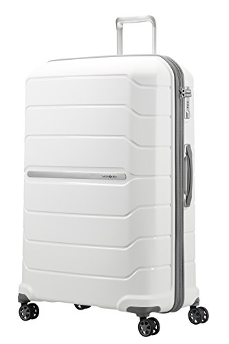 SAMSONITE Flux - Spinner 81/30 Expandable Bagage cabine, 81 cm, 145 liters, Weiß